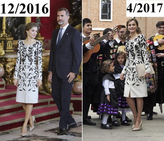 Giống công nương Kate, Nữ hoàng Tây Ban Nha chỉ chuộng những hãng đồ bình dân và chẳng ngại mặc đi mặc lại một mẫu - Ảnh 15.
