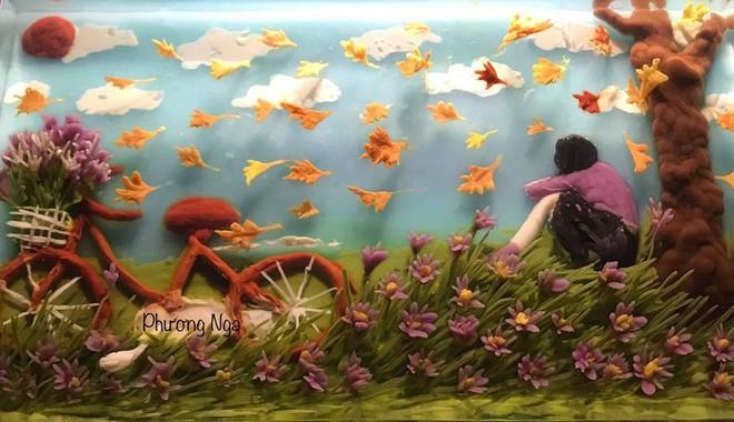 Ngưỡng mộ phù thủy vẽ tranh 3D trên thạch rau câu, đẹp ngây ngất đến mức chẳng ai nỡ ăn - ảnh 25