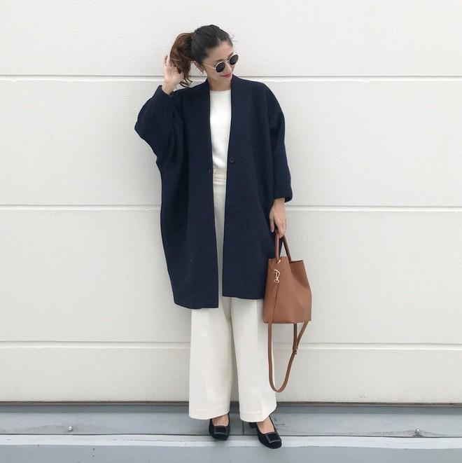 Áo khoác dài + quần ống rộng: Combo mặc kiểu gì cũng đẹp cho mùa đông năm nay - Ảnh 16.