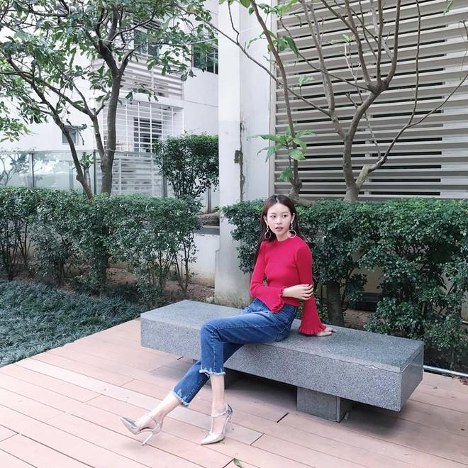 Đông này muốn diện áo len thật thời thượng, hãy học tập từ street style của các người đẹp Vbiz - Ảnh 12.