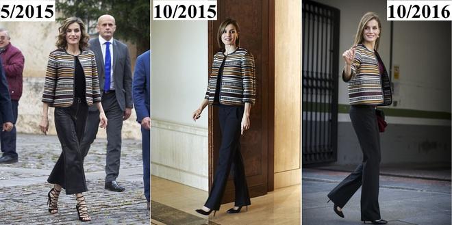 Giống công nương Kate, Nữ hoàng Tây Ban Nha chỉ chuộng những hãng đồ bình dân và chẳng ngại mặc đi mặc lại một mẫu - Ảnh 17.