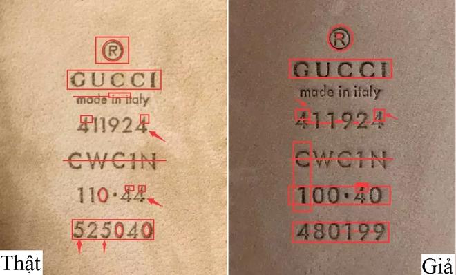 Trọn bộ bí kíp phân biệt túi Gucci thật – giả cho các tín đồ hàng hiệu - Ảnh 18.