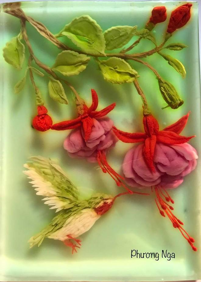 Ngưỡng mộ phù thủy vẽ tranh 3D trên thạch rau câu, đẹp ngây ngất đến mức chẳng ai nỡ ăn - ảnh 18