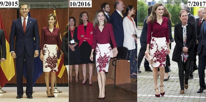 Giống công nương Kate, Nữ hoàng Tây Ban Nha chỉ chuộng những hãng đồ bình dân và chẳng ngại mặc đi mặc lại một mẫu - Ảnh 18.