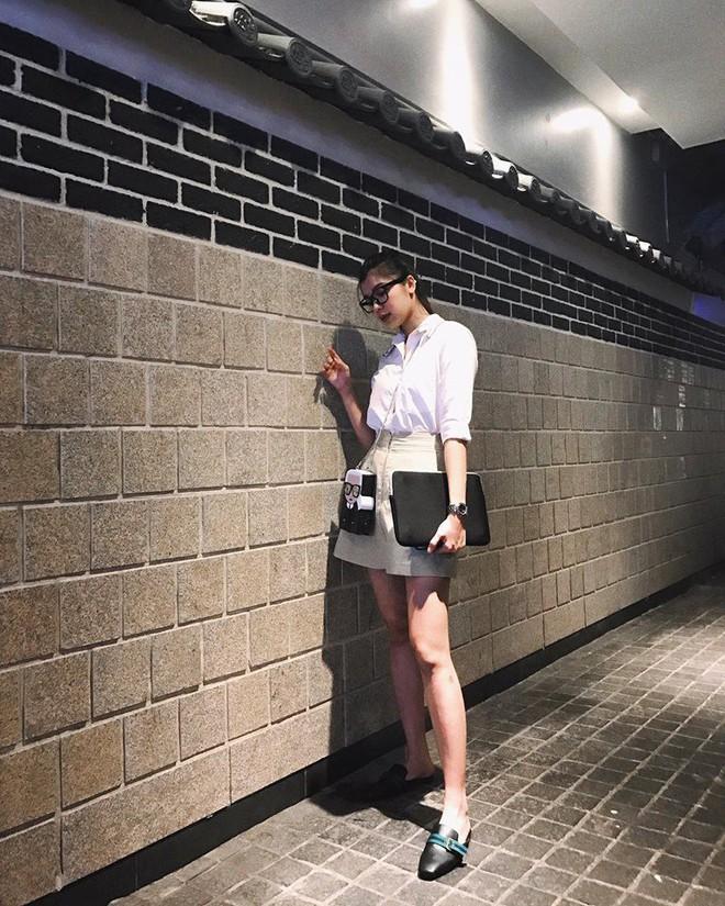 Thu Thủy khoe street style trẻ trung, Kỳ Duyên khác lạ với đôi chân nhìn như dài cả mét - Ảnh 17.