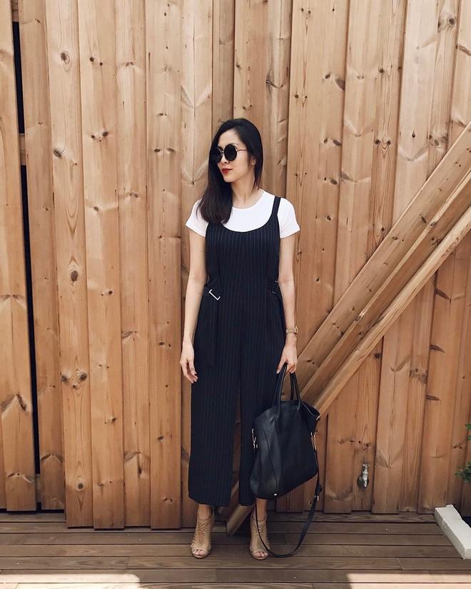 Cầu kỳ gì đâu, Tăng Thanh Hà chỉ cần diện đồ đen - trắng đơn giản thế này thôi cũng đẹp - Ảnh 8.