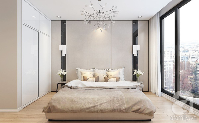 Với 240 triệu, KTS đã cải tạo căn hộ 110m2 từ chỗ có mặt bằng lồi lõm trở nên thoáng sáng đến bất ngờ - Ảnh 8.