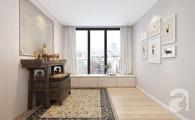 Với 240 triệu, KTS đã cải tạo căn hộ 110m2 từ chỗ có mặt bằng lồi lõm trở nên thoáng sáng đến bất ngờ - Ảnh 11.
