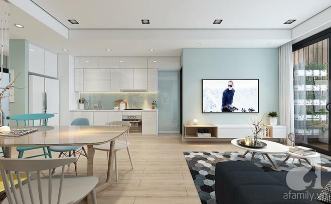 Với 240 triệu, KTS đã cải tạo căn hộ 110m2 từ chỗ có mặt bằng lồi lõm trở nên thoáng sáng đến bất ngờ - Ảnh 6.