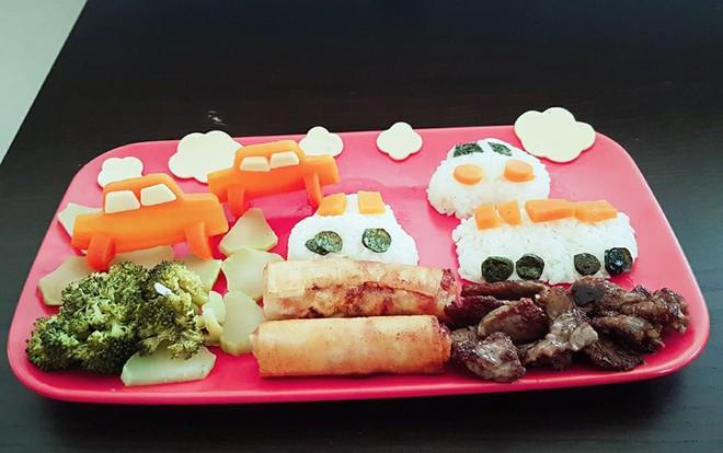 Mẹ Việt ở Úc<b style=color:#FA5742><i> hướng dẫn </i></b>các bước đơn giản làm cơm bento cho bé ăn thun thút - Ảnh 18.