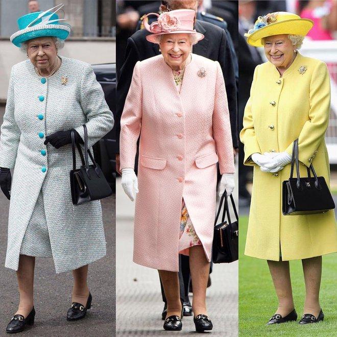 Phong cách chói chang là vậy, nhưng hóa ra Nữ hoàng Anh chỉ trung thành với những thương hiệu này - Ảnh 2.