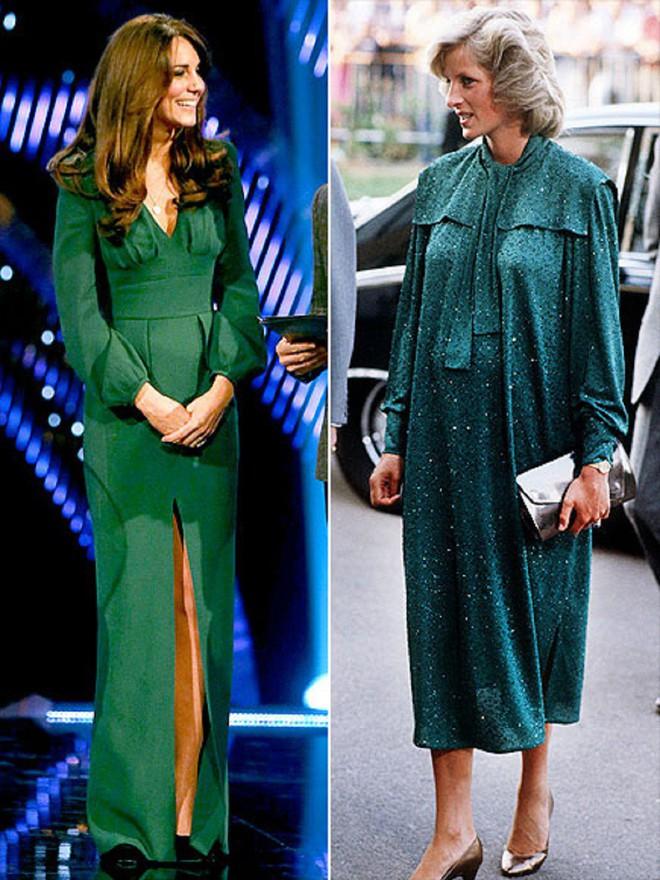 Cùng mang thai, nhưng công nương Kate và công nương Diana lại có cánh che bụng bầu hoàn toàn khác nhau - Ảnh 2.