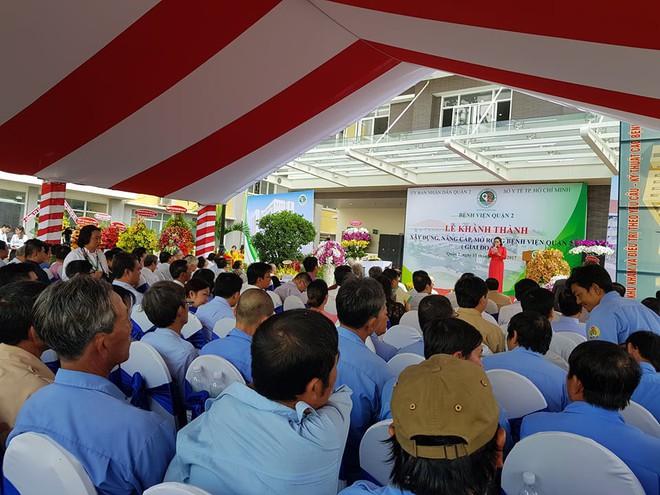 Thêm 110 chiếc giường cho bệnh nhân Sài Gòn được đưa vào hoạt động - ảnh 1