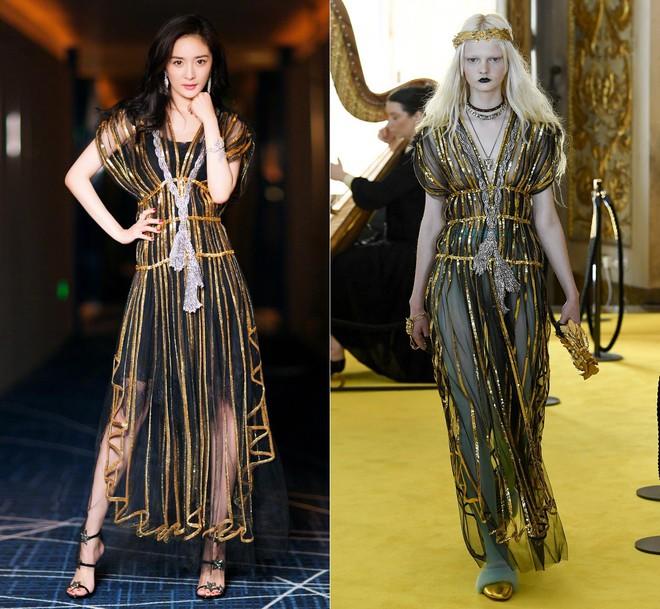 Dương Mịch, Phạm Băng Băng, Angela Baby… chính là những người đẹp rất hay chỉnh sửa váy áo hàng hiệu cho bớt sexy - Ảnh 2.