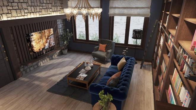 Bộ sưu tập những phong cách thiết kế nội thất phòng khách sang chảnh nhất - Ảnh 7.