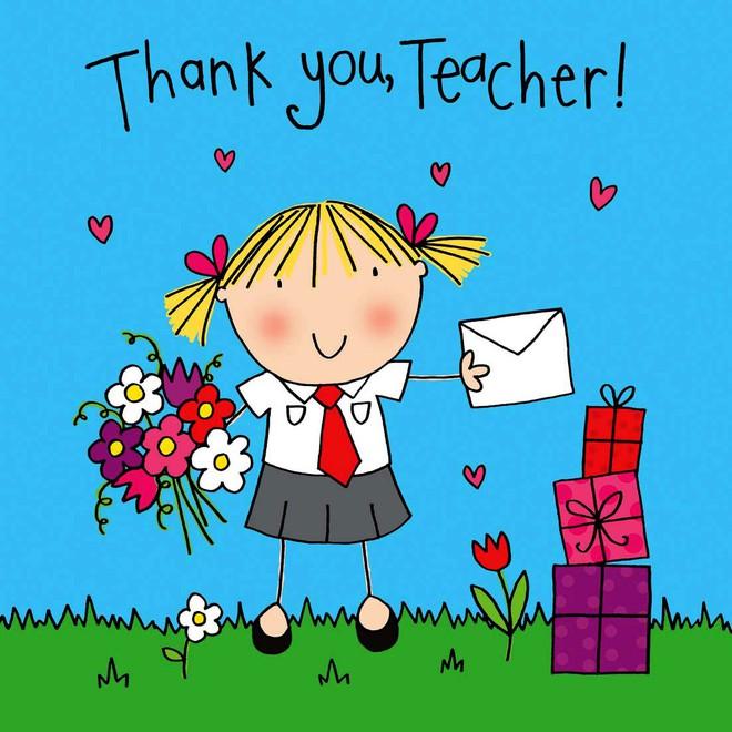 Mách mẹ 32 lời chúc siêu ý nghĩa giúp con ghi điểm với thầy cô nhân Ngày nhà giáo Việt Nam 20/11 - Ảnh 3.