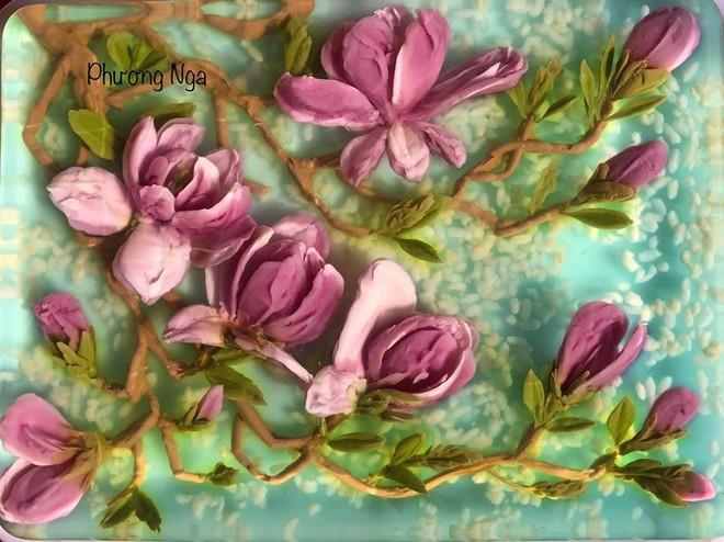 Ngưỡng mộ phù thủy vẽ tranh 3D trên thạch rau câu, đẹp ngây ngất đến mức chẳng ai nỡ ăn - Ảnh 27.