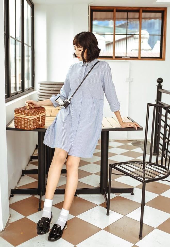 Đón thu ngọt ngào cùng những thiết kế váy liền tay lỡ mà giá chưa đến 700 ngàn đến từ các thương hiệu Việt - Ảnh 9.