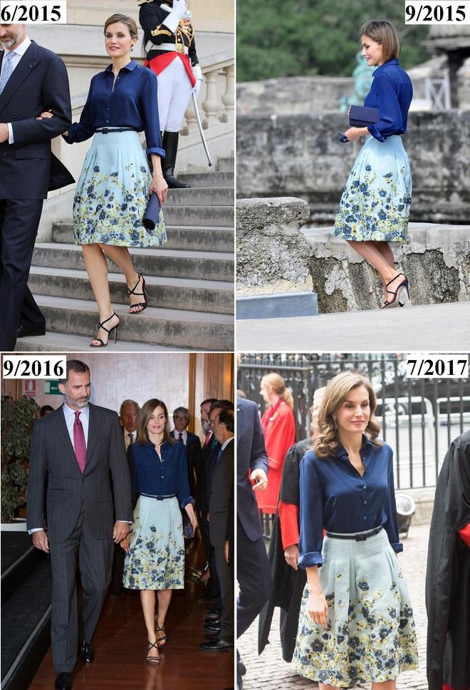 Giống công nương Kate, Nữ hoàng Tây Ban Nha chỉ chuộng những hãng đồ bình dân và chẳng ngại mặc đi mặc lại một mẫu - Ảnh 20.
