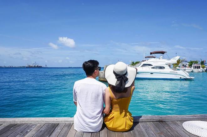 Trải nghiệm 5 ngày ở Maldives chỉ với 85 triệu cho 3 người của Hường Chuối, mẹ đơn thân nổi tiếng MXH