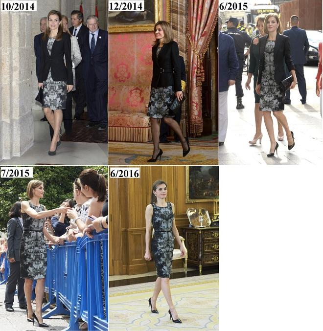 Giống công nương Kate, Nữ hoàng Tây Ban Nha chỉ chuộng những hãng đồ bình dân và chẳng ngại mặc đi mặc lại một mẫu - Ảnh 21.