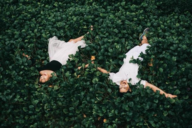Mối lương duyên từ nút like dạo và chuyện yêu chơi, cưới thật của cặp đôi thích đùa - Ảnh 4.