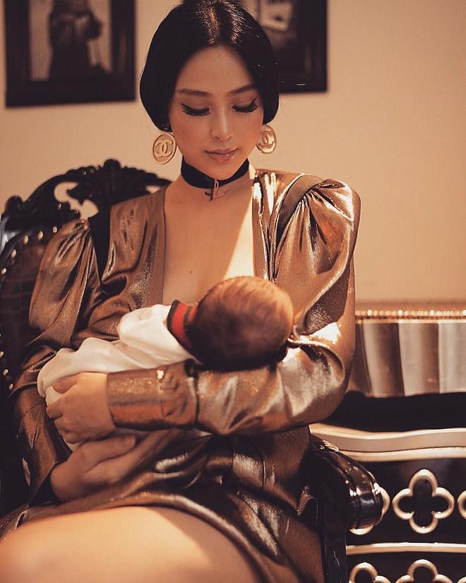 Vừa sinh con được 2 tuần, Huyền Baby đã vội ôm cả kho đồ hiệu về nhà - Ảnh 9.