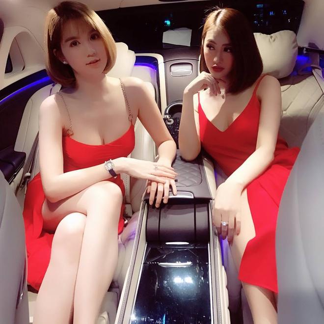 Ngọc Trinh - Linh Chi: chị em thân đến nỗi còn thường xuyên mặc váy áo của nhau - Ảnh 7.