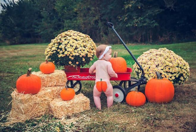 Trào lưu chụp ảnh cho bé sốt xình xịch trong mùa Halloween năm nay, bố mẹ đã biết chưa? - Ảnh 4.