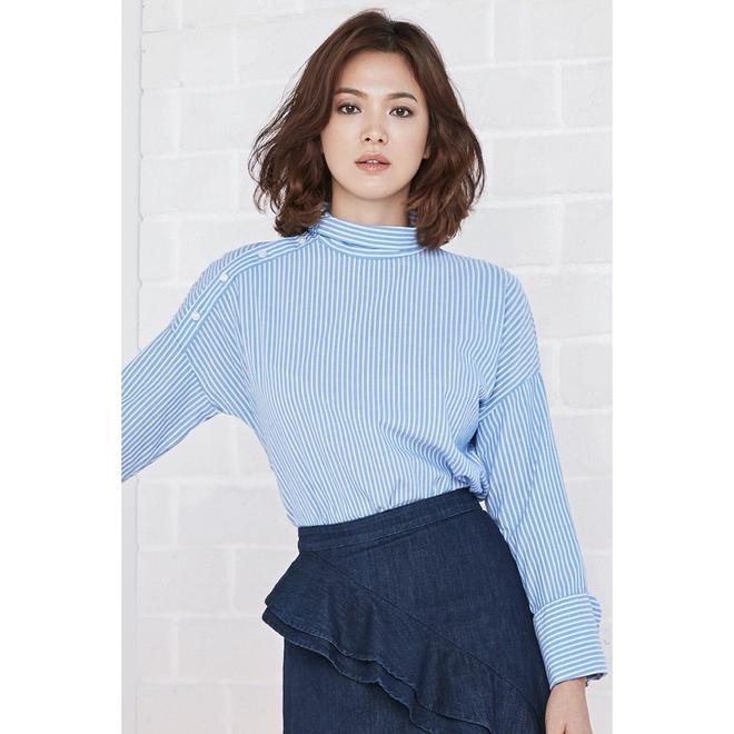 Thực hiện bộ ảnh thời trang cận kề ngày cưới, Song Hye Kyo bỗng tròn đầy hơn hẳn sau nghi vấn bầu bí - Ảnh 10.