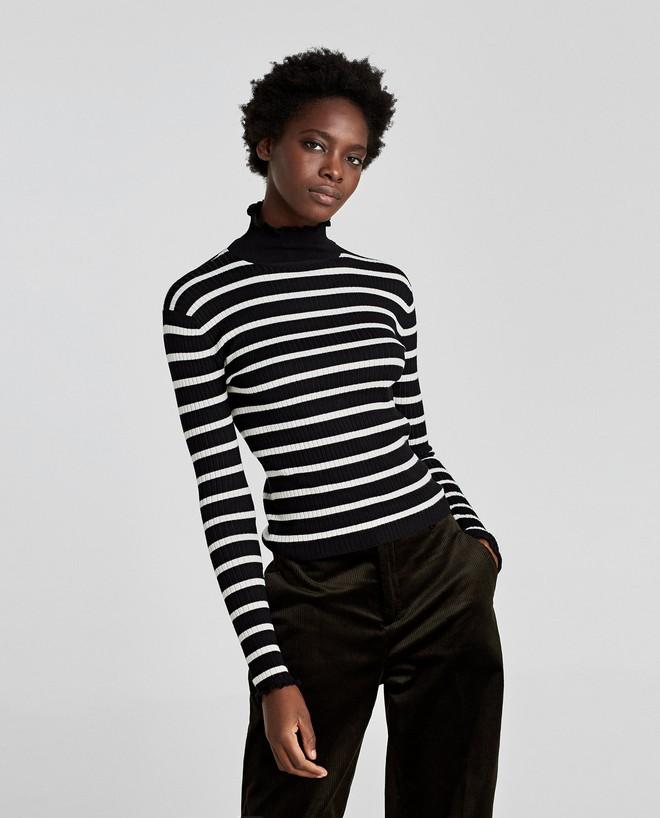 Zara sale 50% và đây là những mẫu áo len, áo nỉ mà các nàng phải vợt ngay kẻo hết size - Ảnh 5.