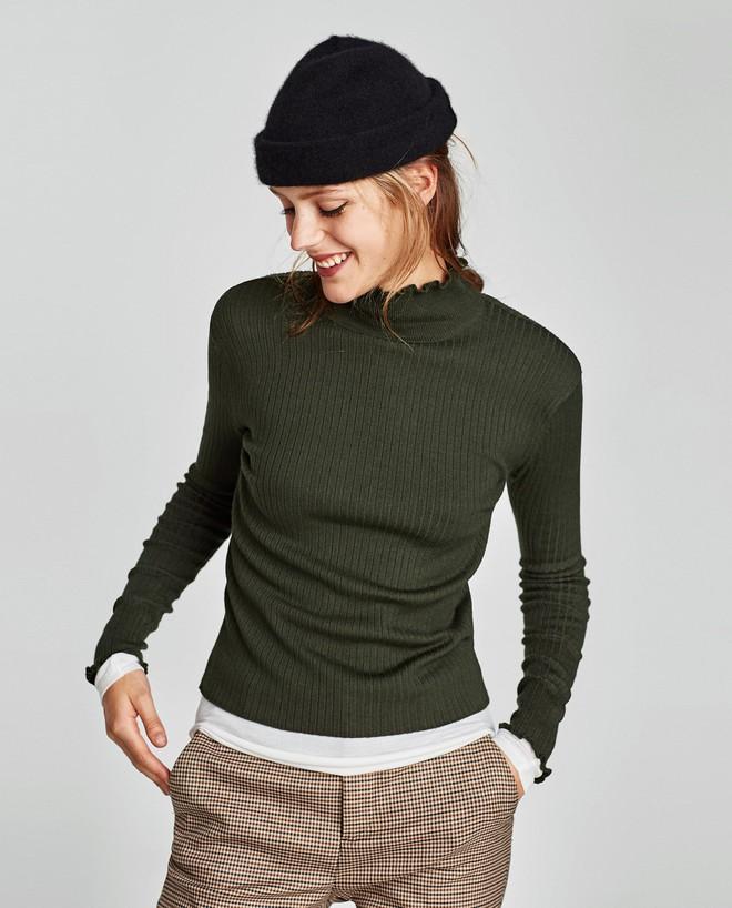 Zara sale 50% và đây là những mẫu áo len, áo nỉ mà các nàng phải vợt ngay kẻo hết size - Ảnh 4.