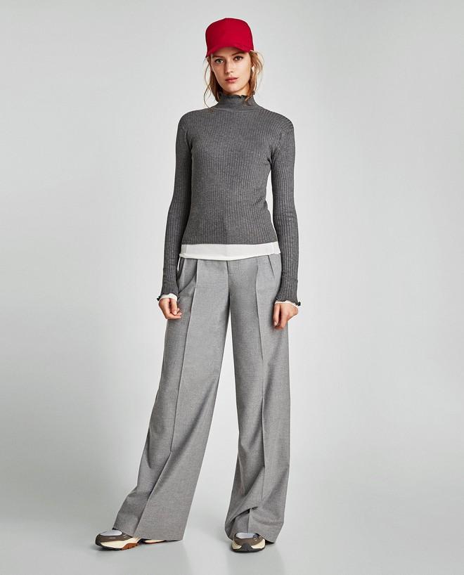 Zara sale 50% và đây là những mẫu áo len, áo nỉ mà các nàng phải vợt ngay kẻo hết size - Ảnh 3.