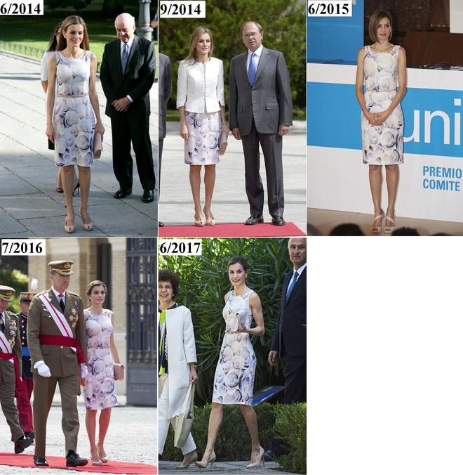 Giống công nương Kate, Nữ hoàng Tây Ban Nha chỉ chuộng những hãng đồ bình dân và chẳng ngại mặc đi mặc lại một mẫu - Ảnh 22.
