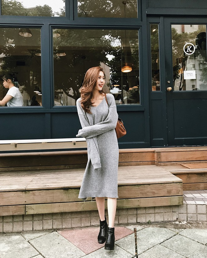 5 mẫu váy đang được các tín đồ thời trang châu Á diện nhiều nhất khi tiết trời se lạnh - Ảnh 23.