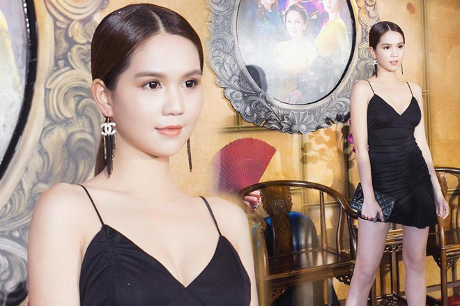 Nhìn bộ váy của Ngọc Trinh diện đi dự sự kiện, mà người ta cứ ngỡ là người đẹp chuẩn bị... đi ngủ  - Ảnh 2.