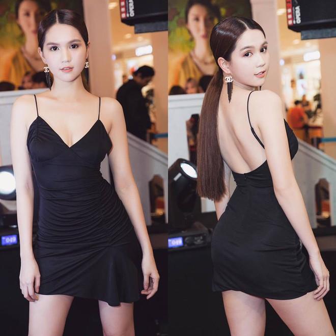 Nhìn bộ váy của Ngọc Trinh diện đi dự sự kiện, mà người ta cứ ngỡ là người đẹp chuẩn bị... đi ngủ  - Ảnh 3.