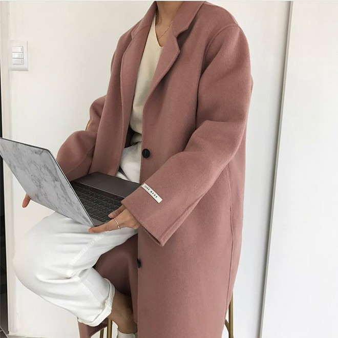 Những gam màu áo khoác dạ hot 2017, bạn đã có chưa? - Ảnh 20.