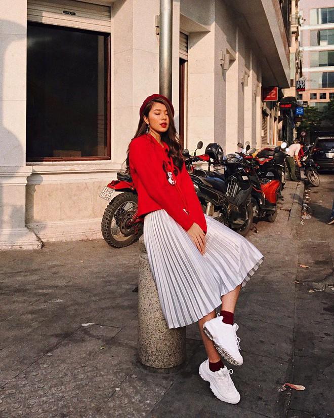 Khởi động mùa lễ hội qua những gợi ý sắc màu đến từ các người đẹp Việt - Ảnh 8.