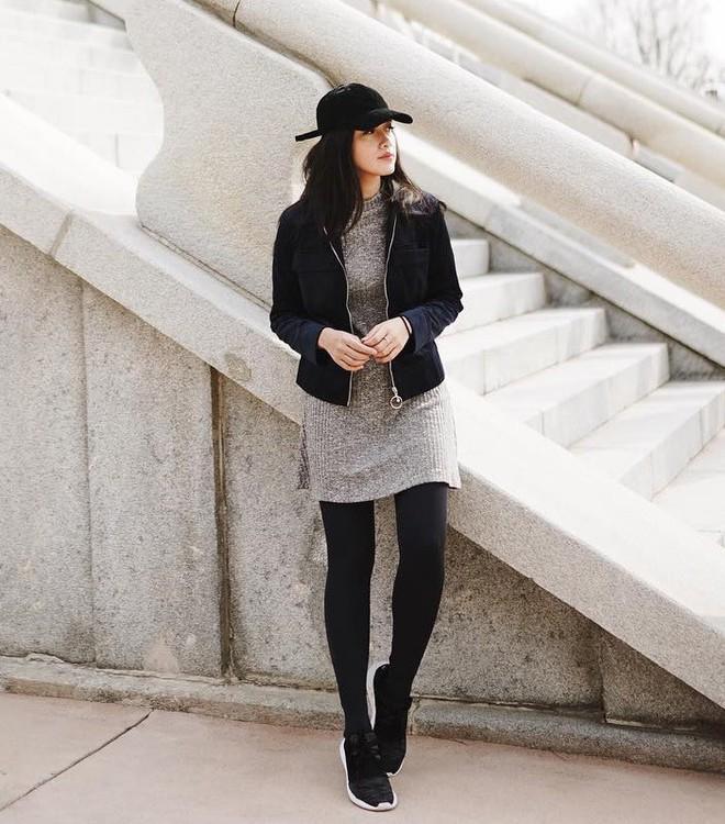 5 mẫu váy đang được các tín đồ thời trang châu Á diện nhiều nhất khi tiết trời se lạnh - Ảnh 25.