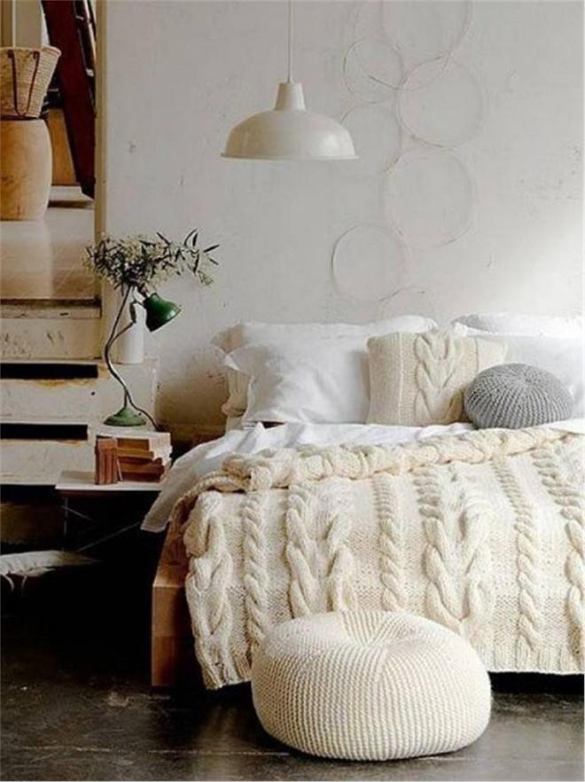 Những mẫu phòng ngủ mùa đông nhìn là thấy ấm - Ảnh 13.