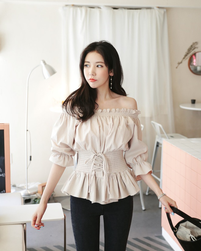 Áo liền corset – mẫu áo mới mà nàng nào mặc vào cũng eo thon tức thì - Ảnh 3.