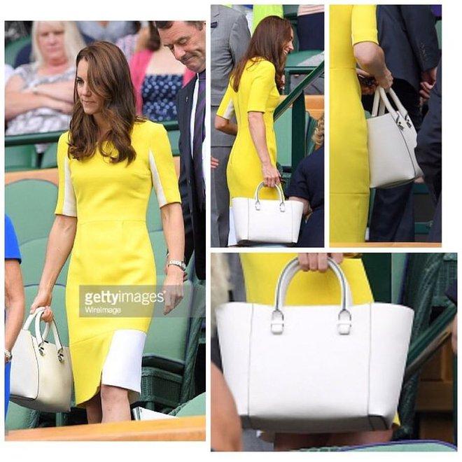 Suốt cả tháng 7, công nương Kate chỉ chuộng diện lại túi cũ từ năm ngoái - Ảnh 3.