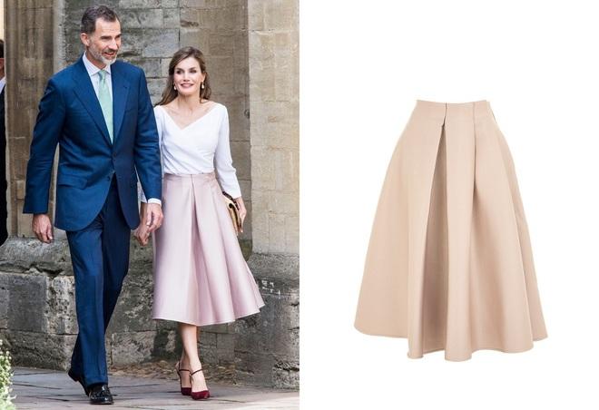 Giống công nương Kate, Nữ hoàng Tây Ban Nha chỉ chuộng những hãng đồ bình dân và chẳng ngại mặc đi mặc lại một mẫu - Ảnh 3.