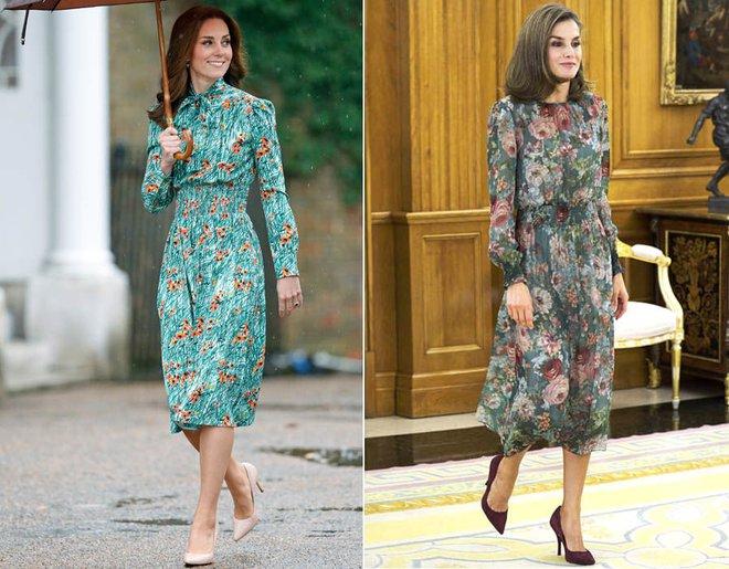 Mặc đẹp là thế, nhưng Công nương Kate cũng từng có vô số màn đụng độ khó phân cao thấp với 1 vị Hoàng hậu - Ảnh 4.