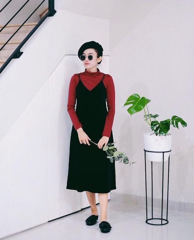 5 mẫu váy đang được các tín đồ thời trang châu Á diện nhiều nhất khi tiết trời se lạnh  - Ảnh 3.