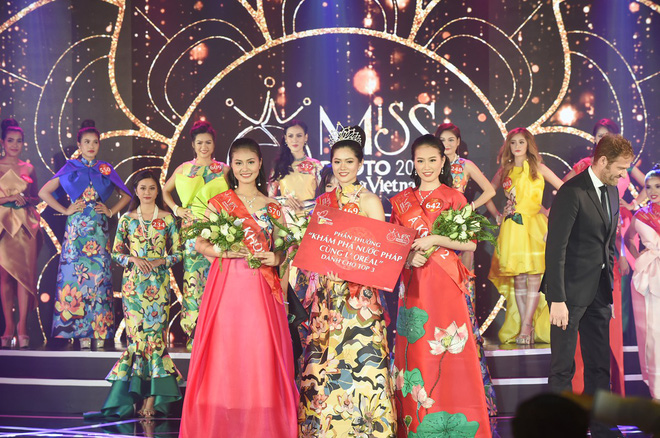 Nhan sắc siêu vòng ba của tân Miss Photo 2017 Vũ Hương Giang - Ảnh 2.