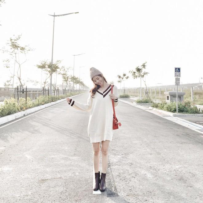 Váy len đúng là món đồ dễ mặc nhất, và bạn nhất định phải sắm 1 chiếc cho đông này - Ảnh 3.
