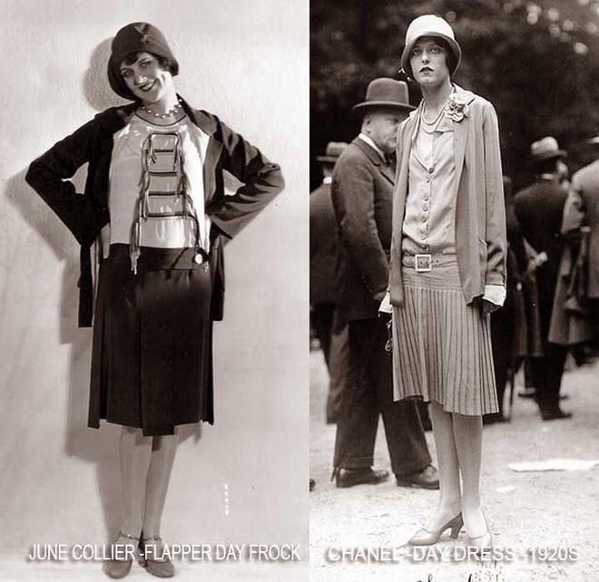 Ngược dòng về quá khứ xem sự thay đổi của chân váy qua từng thời kỳ - Ảnh 8.