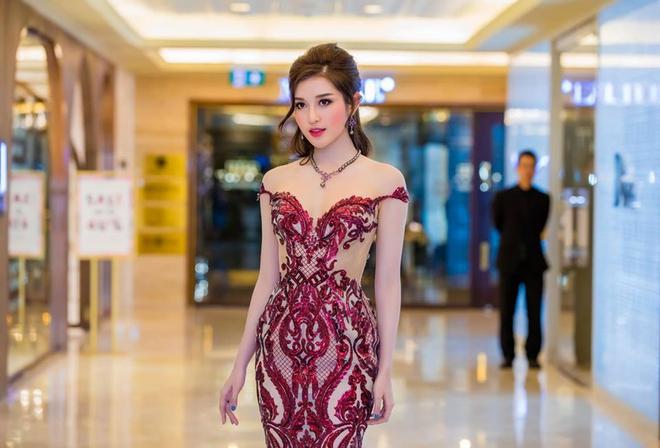 Hé lộ đầm dạ hội mặc đêm Chung kết Miss Grand International của Huyền My, trông chẳng khác gì đầm mặc hôm Bán kết - Ảnh 13.